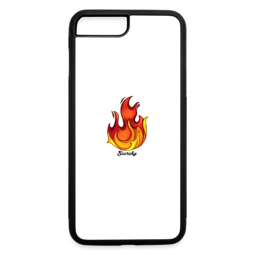 Scorchy Logo Black - iPhone 7 Plus/8 Plus Rubber Case
