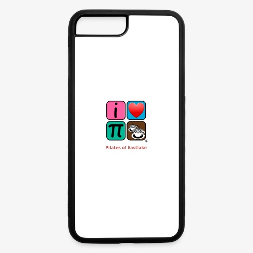 color with text - iPhone 7 Plus/8 Plus Rubber Case