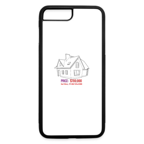 Fannie & Freddie Joke - iPhone 7 Plus/8 Plus Rubber Case
