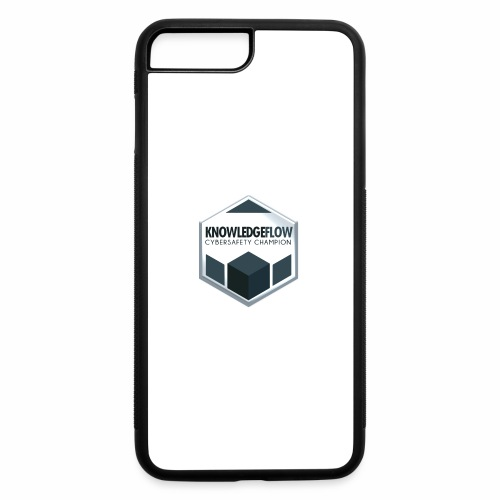 KnowledgeFlow Cybersafety Champion - iPhone 7 Plus/8 Plus Rubber Case