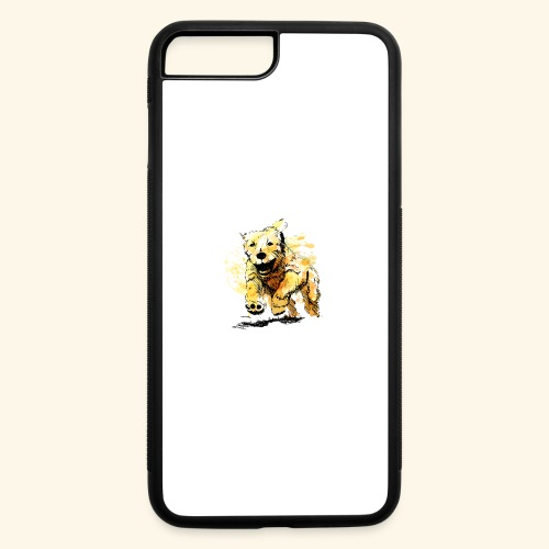 oil dog - iPhone 7 Plus/8 Plus Rubber Case