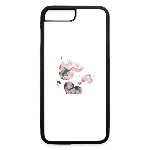 Roses with love, sweet - iPhone 7 Plus/8 Plus Rubber Case