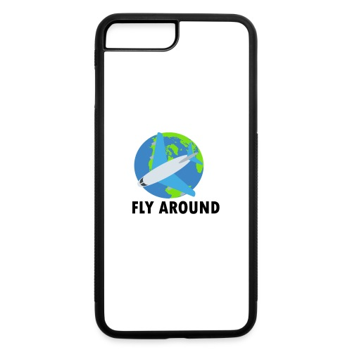 Fly Around Logo - iPhone 7 Plus/8 Plus Rubber Case