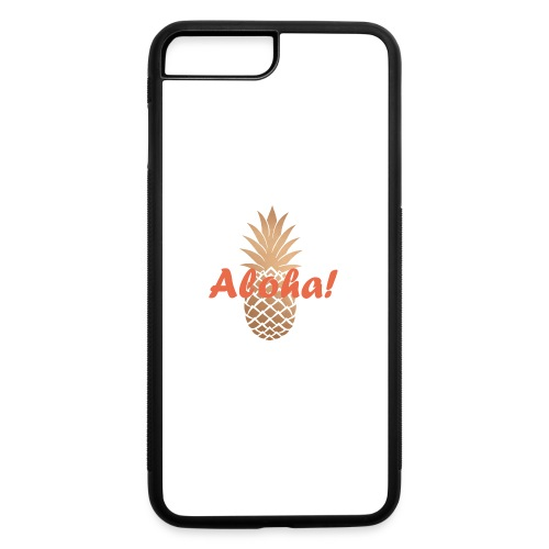 piña dorada - iPhone 7 Plus/8 Plus Rubber Case