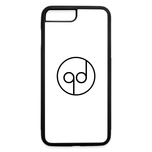 Black Icon - iPhone 7 Plus/8 Plus Rubber Case
