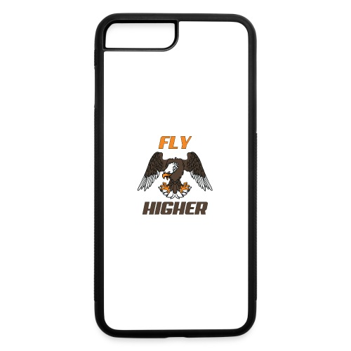 Fly High Think Higher - The motivational design - iPhone 7 Plus/8 Plus Rubber Case