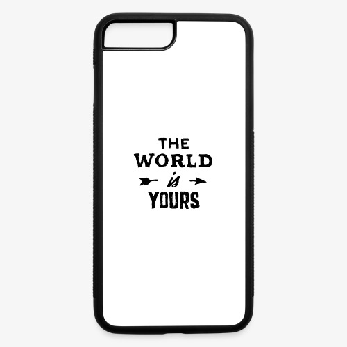 the world - iPhone 7 Plus/8 Plus Rubber Case