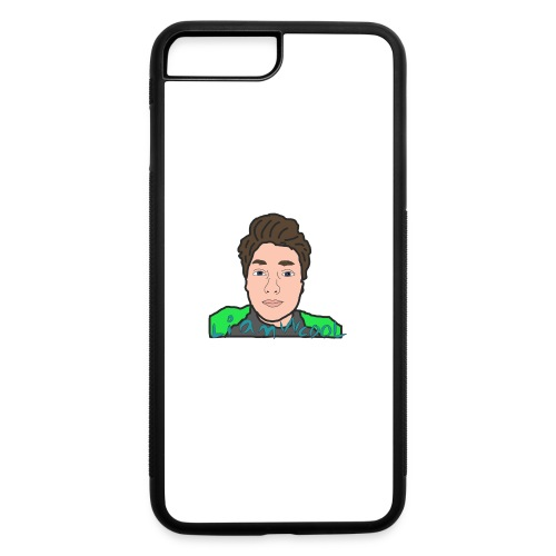 LiamWcool head tee - iPhone 7 Plus/8 Plus Rubber Case