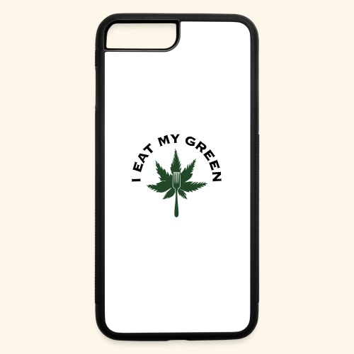 I Eat My Green - iPhone 7 Plus/8 Plus Rubber Case