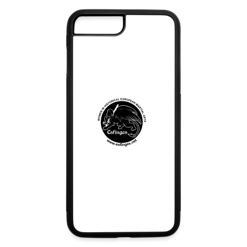 Esfinges Logo Black - iPhone 7 Plus/8 Plus Rubber Case