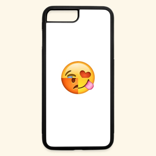 E Tees , Unique , Love , Cry, angry - iPhone 7 Plus/8 Plus Rubber Case