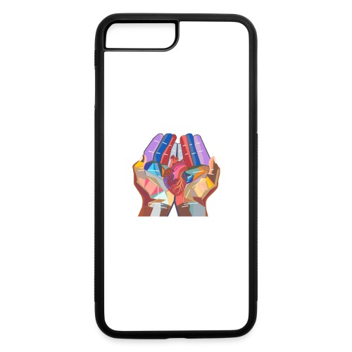 Heart in hand - iPhone 7 Plus/8 Plus Rubber Case