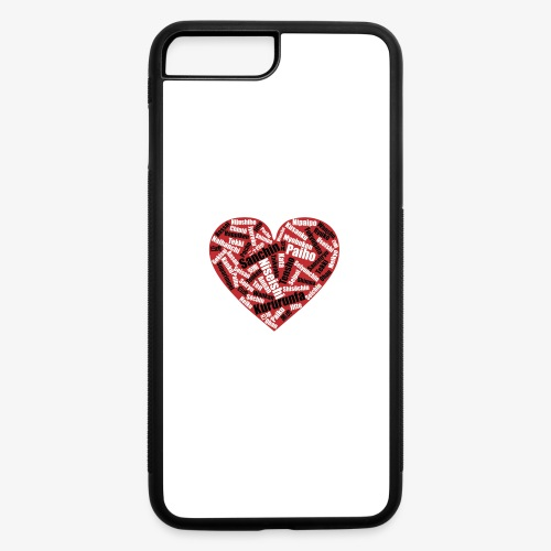 Kata Mix Heart - iPhone 7 Plus/8 Plus Rubber Case