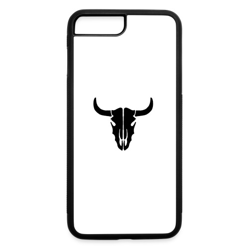Longhorn skull - iPhone 7 Plus/8 Plus Rubber Case