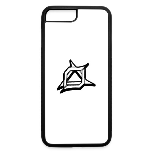Oma Alliance Black - iPhone 7 Plus/8 Plus Rubber Case