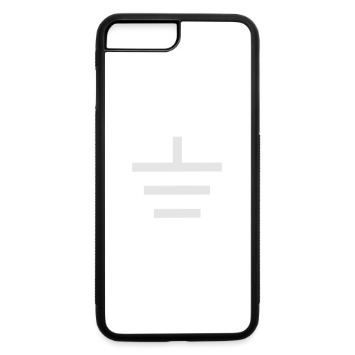 GROUNDED - BASEBALL CAP - iPhone 7 Plus/8 Plus Rubber Case