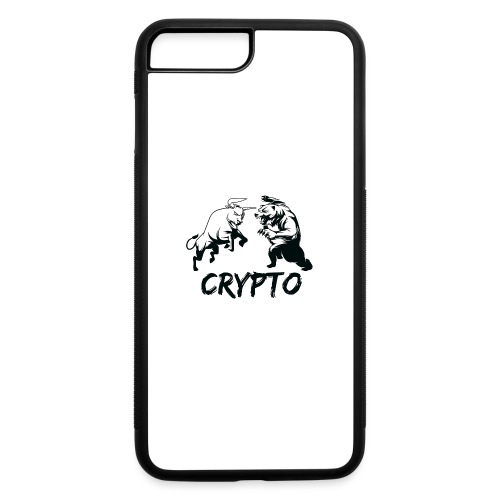 CryptoBattle Black - iPhone 7 Plus/8 Plus Rubber Case