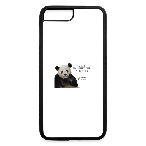 Endangered Pandas - Josiah's Covenant - iPhone 7 Plus/8 Plus Rubber Case