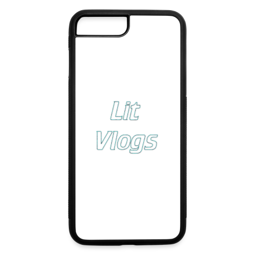 Lit Vlogs iPhone Case - iPhone 7 Plus/8 Plus Rubber Case