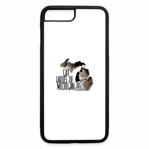 Cat Ladies of Michigan - iPhone 7 Plus/8 Plus Rubber Case