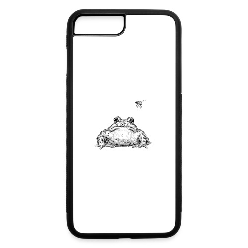 Frog with Fly by Imoya Design - iPhone 7 Plus/8 Plus Rubber Case
