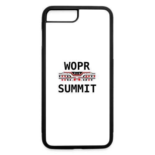 WOPR Summit 0x0 RB - iPhone 7 Plus/8 Plus Rubber Case