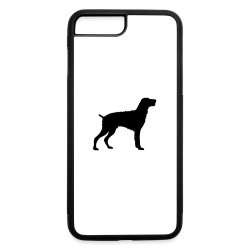 German Wirehaired Pointer - iPhone 7 Plus/8 Plus Rubber Case
