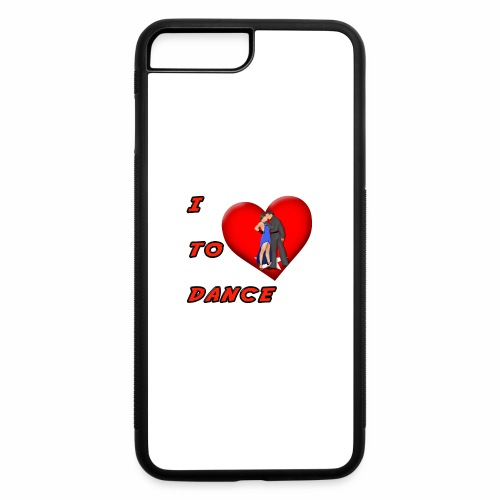 I Heart Dance - iPhone 7 Plus/8 Plus Rubber Case