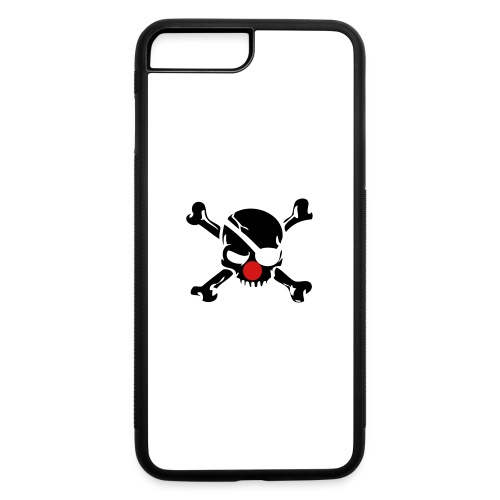 Clown Jolly Roger Pirate - iPhone 7 Plus/8 Plus Rubber Case
