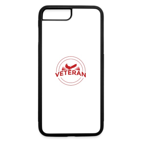 Veteran Soldier Military - iPhone 7 Plus/8 Plus Rubber Case