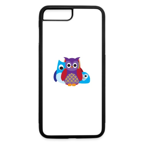 Cute Owls Eyes - iPhone 7 Plus/8 Plus Rubber Case