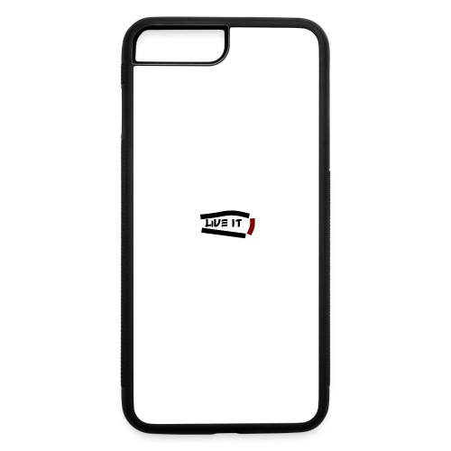 Live It - iPhone 7 Plus/8 Plus Rubber Case