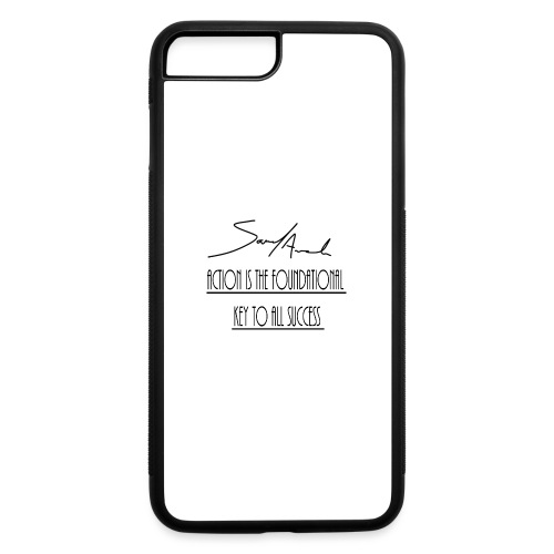 Action is the foundational key to all success - iPhone 7 Plus/8 Plus Rubber Case