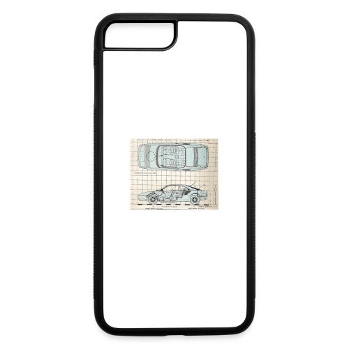 drawings - iPhone 7 Plus/8 Plus Rubber Case