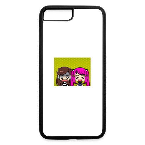 Phone case merch of jazzy and raven - iPhone 7 Plus/8 Plus Rubber Case