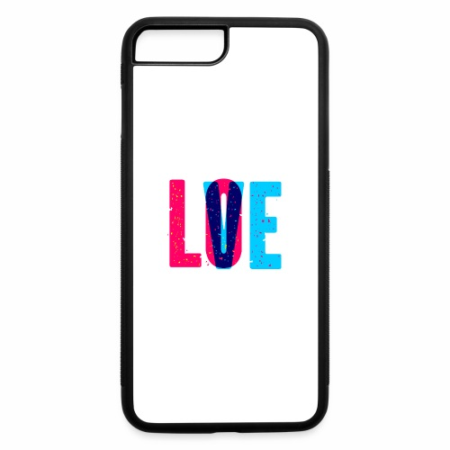 love design pattern - iPhone 7 Plus/8 Plus Rubber Case