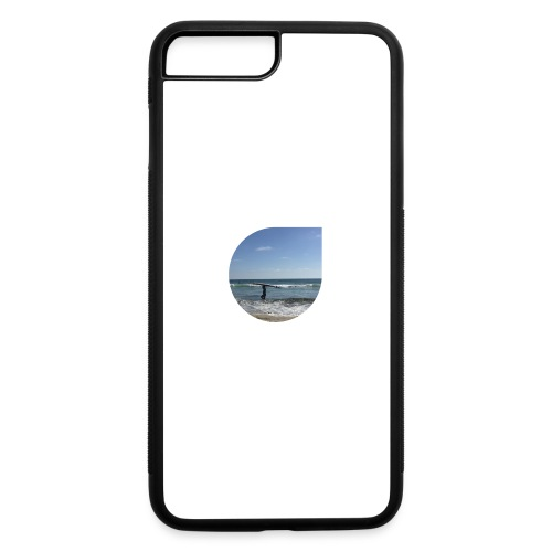 Floating sand - iPhone 7 Plus/8 Plus Rubber Case