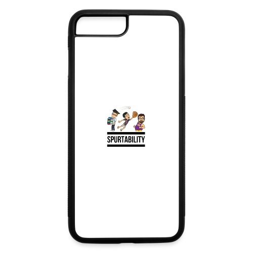 Spurtability Black Text - iPhone 7 Plus/8 Plus Rubber Case