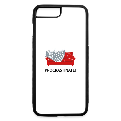 Dalek Procrastinate - iPhone 7 Plus/8 Plus Rubber Case