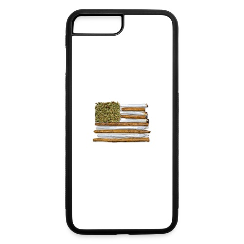 American Flag With Joint - iPhone 7 Plus/8 Plus Rubber Case