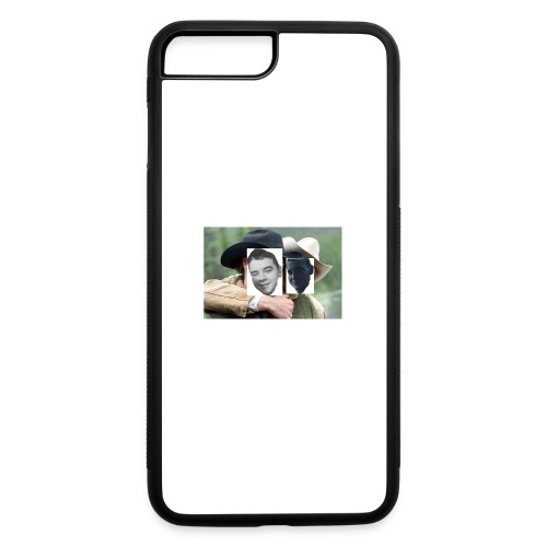 Darien and Curtis Camping Buddies - iPhone 7 Plus/8 Plus Rubber Case