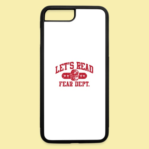 Athletic - Fear Dept. - RED - iPhone 7 Plus/8 Plus Rubber Case
