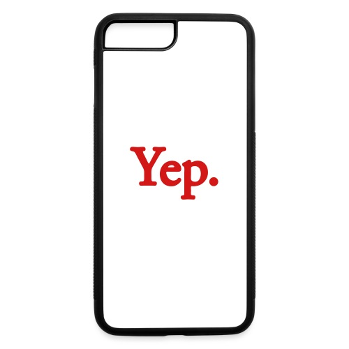 Yep. - 1c RED - iPhone 7 Plus/8 Plus Rubber Case