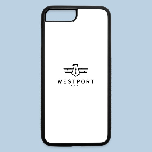 Westport Band Back on transparent - iPhone 7 Plus/8 Plus Rubber Case