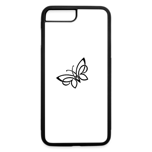 butterfly - iPhone 7 Plus/8 Plus Rubber Case