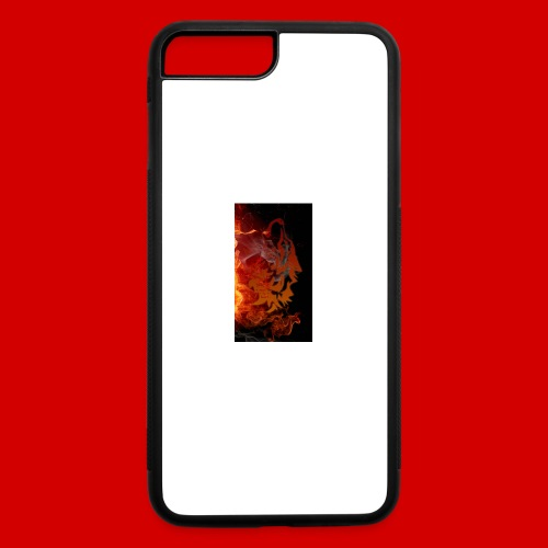 Flaming wolf - iPhone 7 Plus/8 Plus Rubber Case
