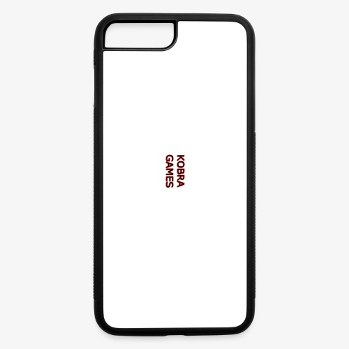 Bigger Phone Case Print - iPhone 7 Plus/8 Plus Rubber Case