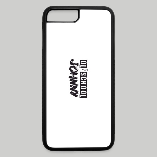 Ol' School Johnny Logo - Black Text - iPhone 7 Plus/8 Plus Rubber Case