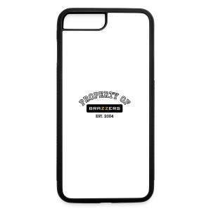 Property of Brazzers logo outline - iPhone 7 Plus Rubber Case