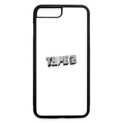 Type 2 - iPhone 7 Plus/8 Plus Rubber Case